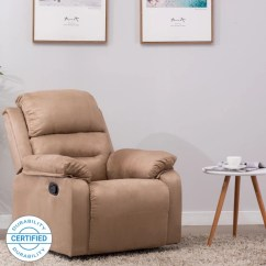 Reclining Office Chair With Footrest India Round Oak Table 6 Chairs Recliners Buy Durability Certified Sofa Online At Best Flipkart Perfect Homes Wayne Single Seater Fabric Recliner