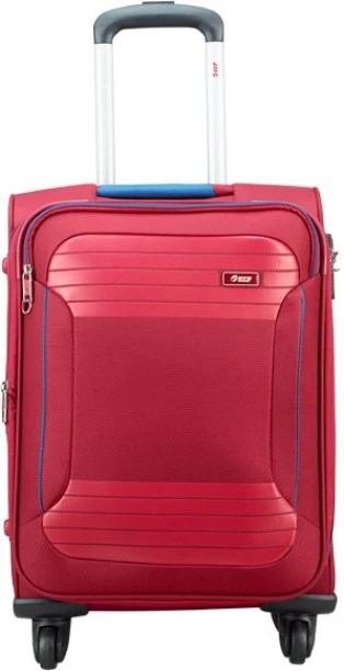 Vip zane  exp strolly ruby red expandable cabin luggage inch also suitcases buy bags briefcases online rh flipkart