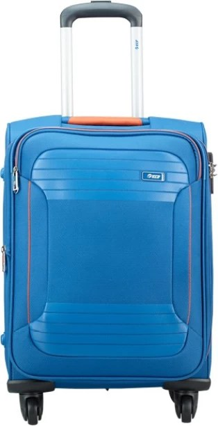 Vip zane  exp strolly marine blue expandable cabin luggage inch also suitcases buy bags briefcases online rh flipkart