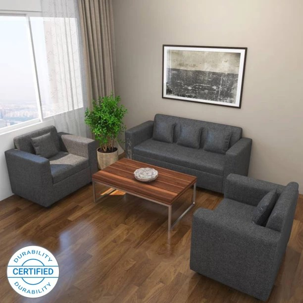 wooden sofa designs for living room pictures of rooms with sectional sofas set check स फ sets at flipkart furniture bharat lifestyle lexus fabric 3 1 dark grey