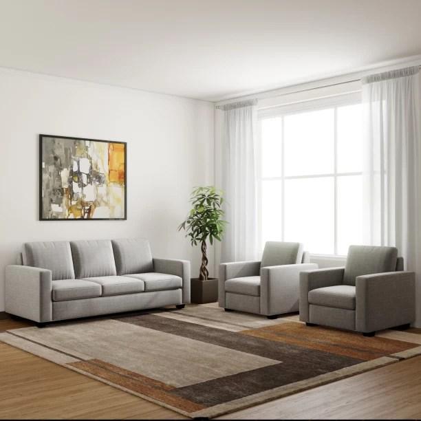 sofa set living room teal green and red check स फ sets designs at flipkart furniture primrose eclipse fabric 3 1 silver grey