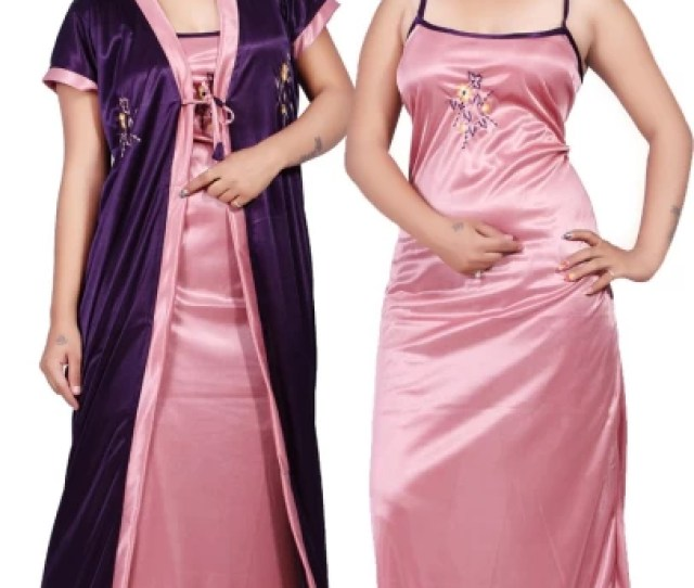 Nilesh Fab Women Nighty With Robe