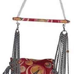 Hanging Chair Flipkart Desk Knobs Hammocks Swings Buy Online At Best Prices In India Alpyog Swing For Baby Nylon Hammock Folding And Washable With Safety Belt Cotton