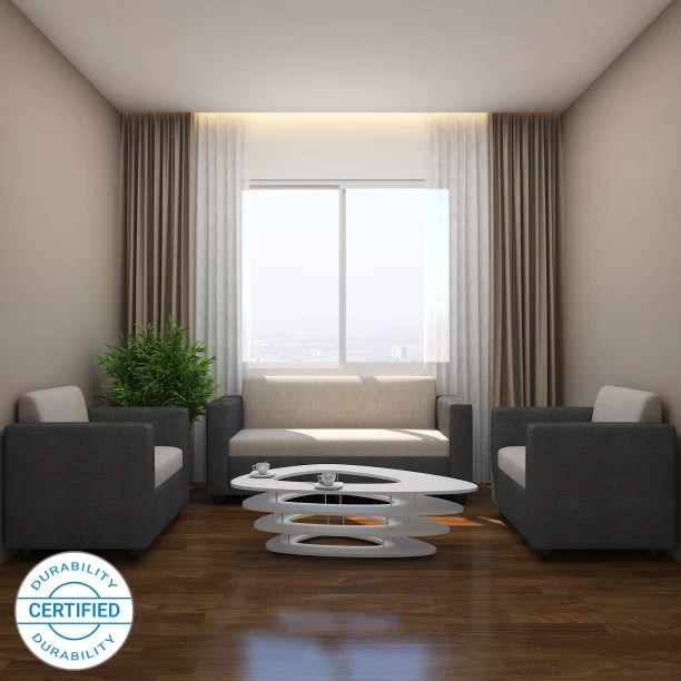 wooden sofa designs for living room buy seat covers set check स फ sets at flipkart furniture gioteak kimwel fabric 3 1 grey