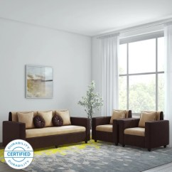 Living Room Furniture Sofas In Chennai Design With Gray Walls Sofa Set Check स फ Sets Designs At Flipkart Bharat Lifestyle Fabric 3 1 Cream