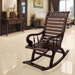 Rocking Chair With Footstool India Upholstered Nursery Chairs Buy Easy Online At Best Prices In On Dzyn Furnitures Solid Wood 1 Seater