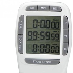 Digital Kitchen Timers Islands On Sale Buy Online At Best Prices In India Amicikart Clock Alarm Timer With Triple Display 3 Simultaneous Countdown