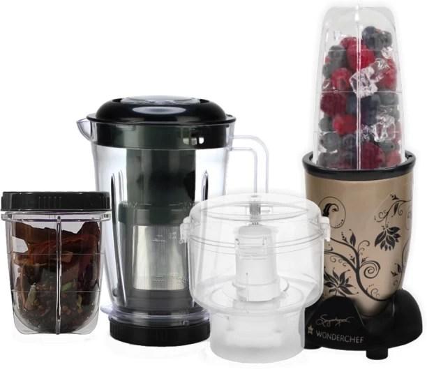 cool kitchen appliances sink pendant light direct buy wonderchef nutri blend ckm champagne 400 juicer mixer grinder