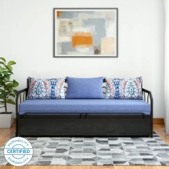 Best Way To Fix A Sofa Bed Single Design Furniture Beds Online At Discounted Prices On Flipkart With Exciting Offers Furniturekraft Caen Double Metal Engineered Wood