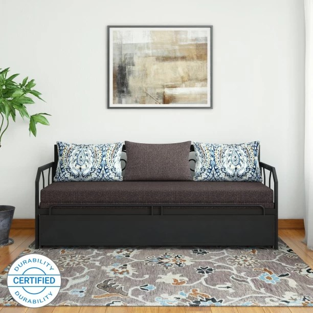 double sofa beds for sale fabric sofas online australia l shaped buy at best prices in furniturekraft caen metal bed