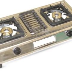 Kitchen Stove Gas Brick Backsplash Pigeon Ultra Stoves 2999 Auto Ignition ग स Akshat 2 Burner Manual Stainless Steel Body