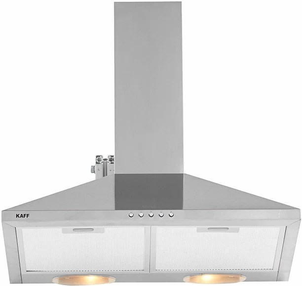 kitchen chimney without exhaust pipe farmhouse faucet buy best online at low prices in india kaff meta 60 cm wall mounted