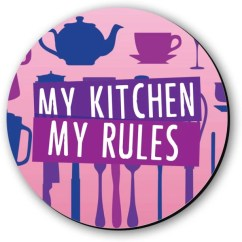 Kitchen Magnets Knife Sets Fridge Buy Online At Best Prices In India Seven Rays My Rules Magnet Pack Of 1