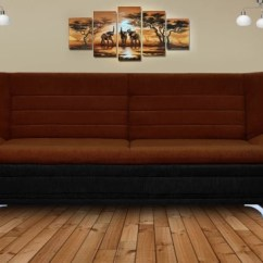 Black Sofa Beds For Sale How To Fix Flat Leather Cushions 4 Seater Buy Online At Best Prices In Dolphin Double Foam Bed