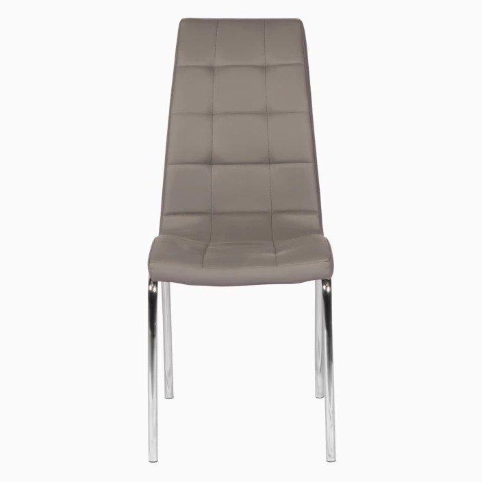 godrej chair accessories savannah club interio radiance dining gre1 leatherette set of 2 finish color grey