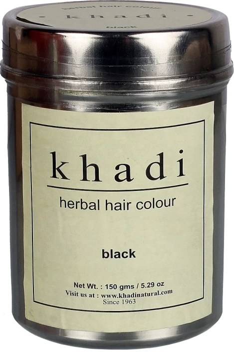 Khadi Natural Herbal Hair Color Black Price In India