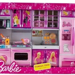 Barbie Kitchen Playset Remodels With White Cabinets We Blink Set Buy Toys In India Shop For Products Flipkart Com