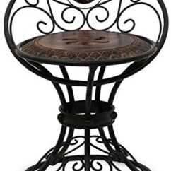 Iron Chair Price Blue Jean Covers Desi Karigar Beautiful Design Wrought Solid Wood Living Room Finish Color Brown