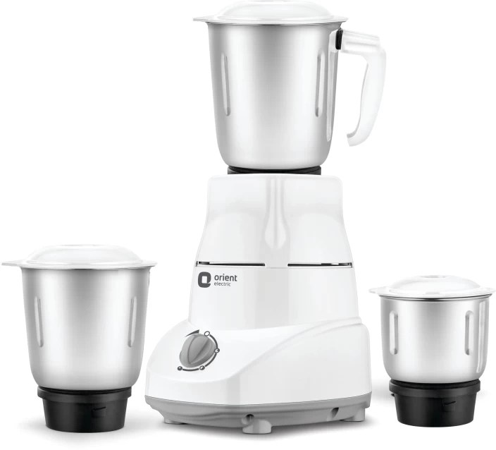 electric grinder kitchen the orleans island orient mgkm50g3 500 w mixer price in india buy white and grey 3 jars