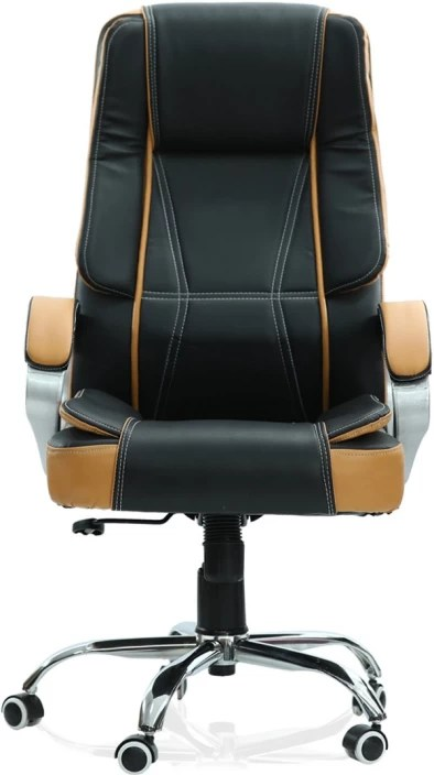 office chair price training room chairs singapore green soul vienna high back black tan leatherette executive brown