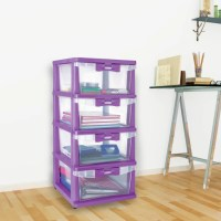 Nilkamal Plastic Free Standing Chest of Drawers Price in ...