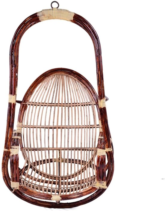 hanging chair flipkart stool history ira bamboo swing price in india buy online at brown