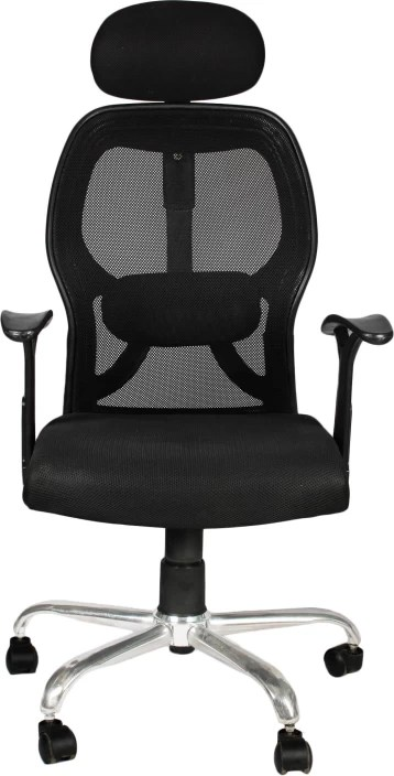 rolling chair accessories in chennai plush padded moon saucer red apex apollo high back office fabric executive black