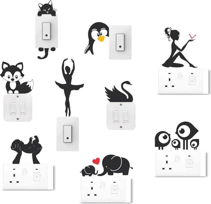 happy walls switchboard stickers