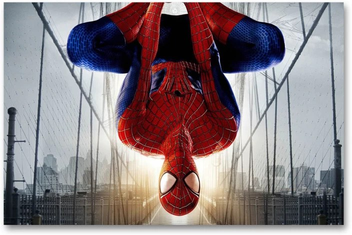 spider man wall poster
