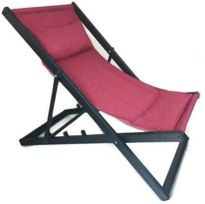 folding yard chair adirondack prints smart shelter metal outdoor price in india buy finish color black and red