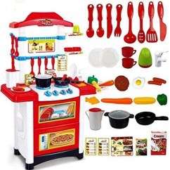 Toy Kitchen Sets California Pizza App Baybee Battery Operated Kids Set Of Baby Toys Playset