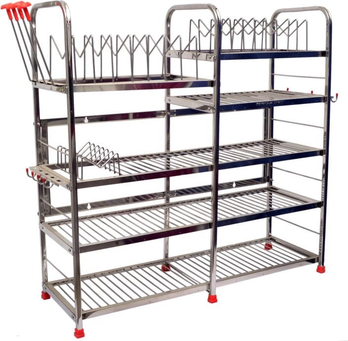 metal kitchen rack outdoor cart maharaja stainless steel price in india buy