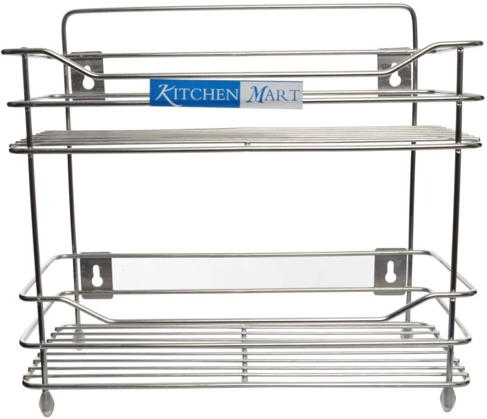 kitchen wire rack faucet installation cost mart shelf step 2 stainless steel price in