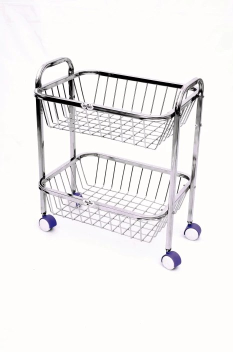 stainless steel kitchen cart narrow cabinets zecado trolley price in india buy online at flipkart com