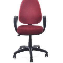 Revolving Chair In Vadodara Classroom Stacking Chairs Nilkamal Finesse Maroon Leatherette Office Arm Price India