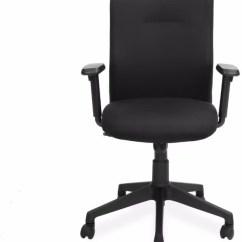 Revolving Chair In Vadodara Windsor Chairs For Sale Nilkamal Gary Fabric Office Arm Price India Buy Black