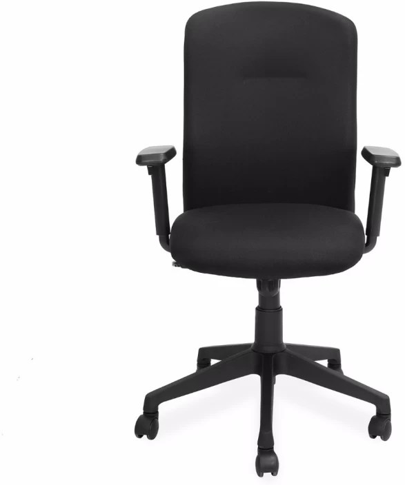 revolving chair vadodara chico high nilkamal gary fabric office arm price in india buy black