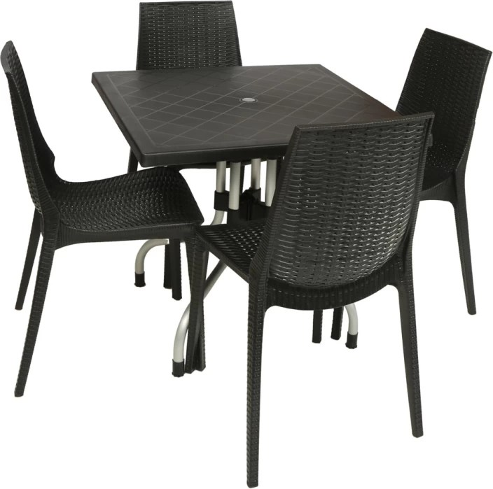resin table and chairs set airbag chair gif supreme wenge plastic price in india buy finish color