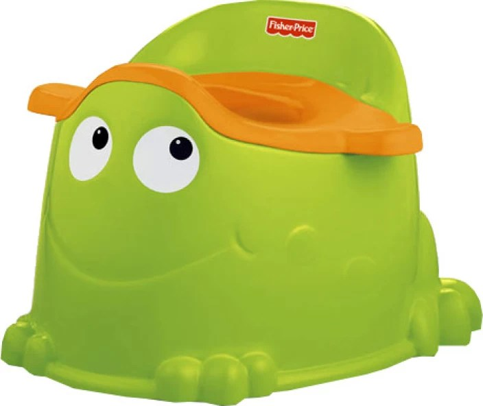 fisher price duck potty chair dining room removable covers froggy seat buy baby care products in green