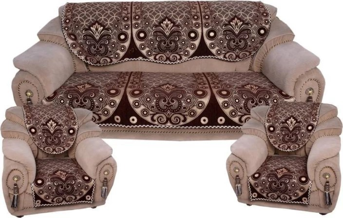 sofa covers low price traditional set designs freshfromloom velvet cover in india buy multicolor pack of 6