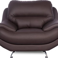 Godrej Chair Accessories Office Best Interio Euro Pro Leatherette 1 Seater Sofa Price In India Finish Color Brown