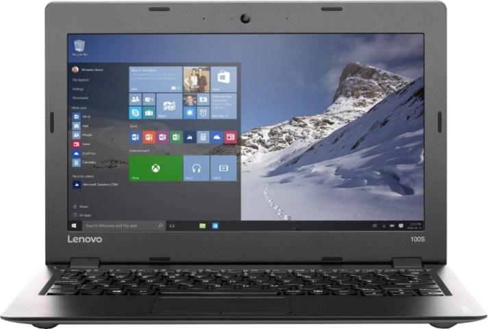 Lenovo Ideapad 100s Atom - (2 GB/32 GB EMMC Storage/Windows 10 Home) 11IBY Laptop(11.6 inch, Silver, 1 kg)