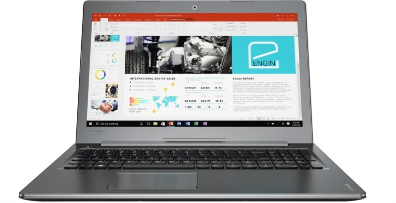 Lenovo Core i5 7th Gen - (8 GB/1 TB HDD/Windows 10 Home/4 GB Graphics) 510 Laptop(15.6 inch, Gun Metal, 2.2 kg)
