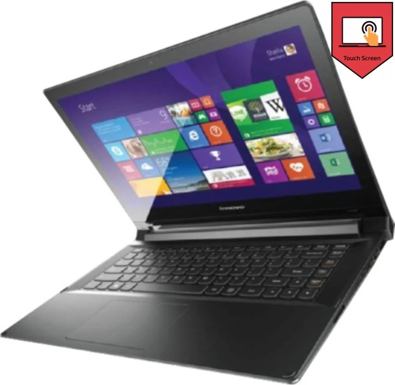 Lenovo APU Quad Core A8 6th Gen - (4 GB/500 GB HDD/8 GB SSD/Windows 8.1) 2-14D Laptop(13.86 inch, Black, 1.9 kg)