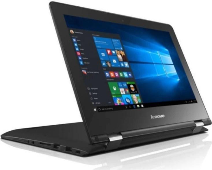 Lenovo Yoga 300 Pentium Quad Core - (4 GB/500 GB HDD/Windows 10 Home) Yoga 2 in 1 Laptop(11.6 inch, Black)
