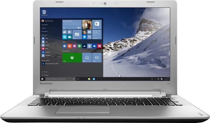 Lenovo Core i5 6th Gen - (8 GB/1 TB HDD/Windows 10 Home/4 GB Graphics) IP 500 Laptop(15.6 inch, Black, 2.3 kg)