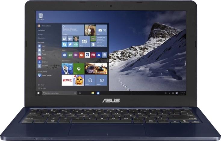Asus EeeBook Celeron Dual Core - (2 GB/500 GB HDD/Windows 10 Home) E202SA-FD0003T Laptop(11.6 inch, Dark Blue, 1.25 kg)