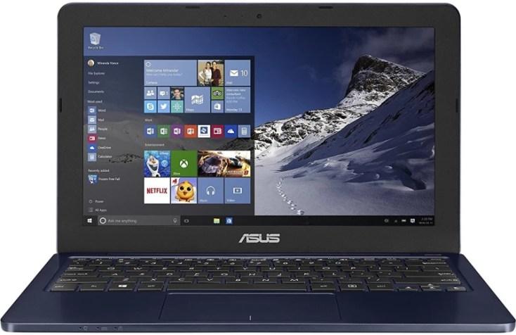 Asus L Series Celeron Dual Core 4th Gen - (2 GB/500 GB HDD/Windows 10 Home) L202SA-FD0041T Laptop(11.6 inch, Dark Blue, 1.25 kg)