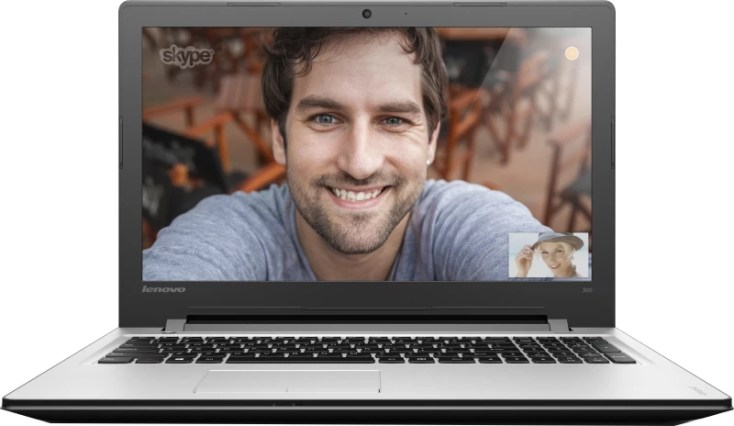 Lenovo Ideapad 300- 15ISK Core i5 6th Gen - (4 GB/1 TB HDD/DOS/2 GB Graphics) 80Q700DWIN Laptop(15.6 inch, SIlver, 2.3 kg)