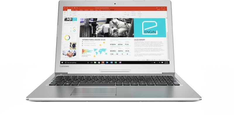 Lenovo Core i5 7th Gen - (8 GB/1 TB HDD/Windows 10 Home/4 GB Graphics) 510 Laptop(15.6 inch, SIlver, 2.2 kg)
